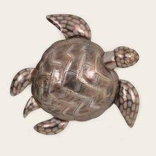 Large Metal Sea Turtle Wall Hanging