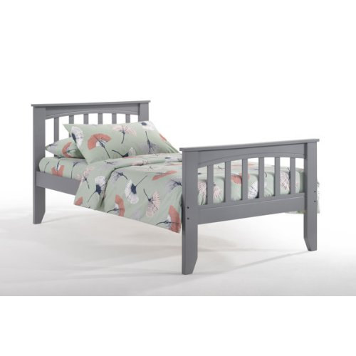 Sasparilla Bed in Gray Finish