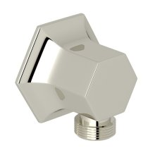 Polished Nickel Bellia Wall Outlet