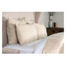 French Herringbone Natural 3Pc Queen Set