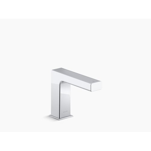 Polished Chrome Touchless Bathroom Sink Faucet With Kinesis Sensor Technology, Dc-powered