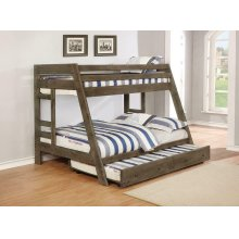 Wrangle Hill Twin-over-full Bunk Bed