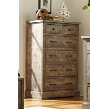 Drawer Chest - Weathered Gray Finish