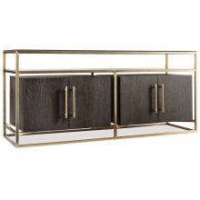Home Entertainment Curata Entertainment Console 66in
