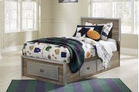 McKeeth - Gray 5 Piece Bed Set (Twin) Product Image