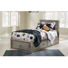 McKeeth - Gray 5 Piece Bed Set (Twin)