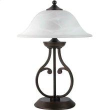 Traditional Dark Bronze Table Lamp