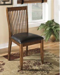 Stuman - Medium Brown Set Of 2 Dining Room Chairs Product Image