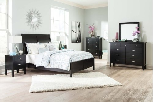 Ashley 4-Piece King Sleigh Bedroom Set