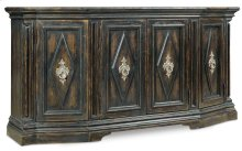 Living Room Auberose Four-Door Credenza