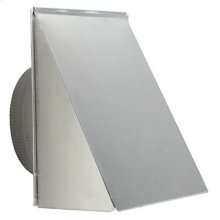"10"" Round, Fresh Air Inlet Wall Cap, Aluminum"