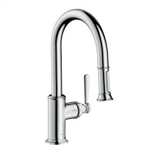Chrome Single lever kitchen mixer 2jet 1.75 GPM