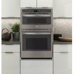 """GE Profile 27"""" Built-In Combination Convection Microwave/Convection Wall Oven"""