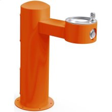 Elkay Outdoor Fountain Pedestal Non-Filtered Non-Refrigerated, Orange