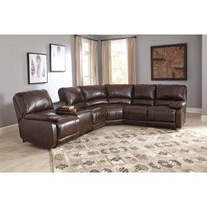Ashley Furniture Hallettsville - Saddle 3 Piece Sectional
