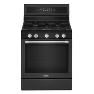 Maytag30-Inch Wide Gas Range With True Convection And Power Preheat - 5.8 Cu. Ft.