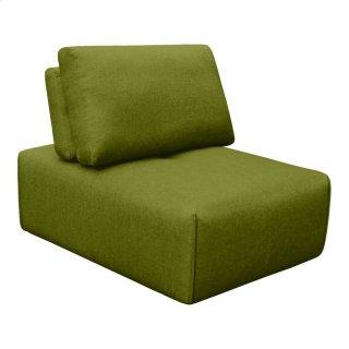 Nathaniel Slipper Chair Green