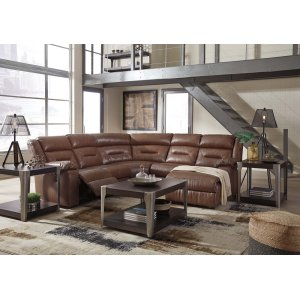 Ashley Furniture Coahoma - Chestnut 7 Piece Sectional