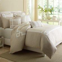 Queen 9pc ComforterSet Natural