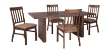 Zilmar - Medium Brown 5 Piece Dining Room Set