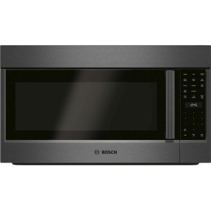 Bosch800 Series Over-The-Range Microwave 30'' Black Stainless Steel, Door Hinge: Left HMV8044U