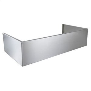 Optional Standard Depth Flue Cover for EPD61 Series Range Hoods in Stainless Steel