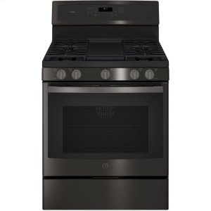"GE ProfileGE PROFILEGE Profile™ Series 30"" Free-Standing Gas Convection Range"