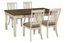 Bolanburg - Antique White 5 Piece Dining Room Set