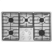 """36"""" Built-In Gas Cooktop with Dishwasher-Safe Grates"""