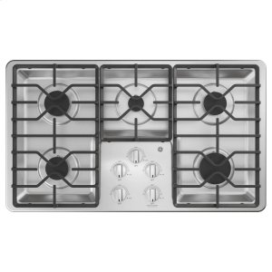 "GEGE® 36"" Built-In Gas Cooktop with Dishwasher-Safe Grates"