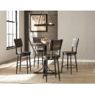 Jennings Round Counter Height Table W/ Metal Base and Swivel Stools Product Image