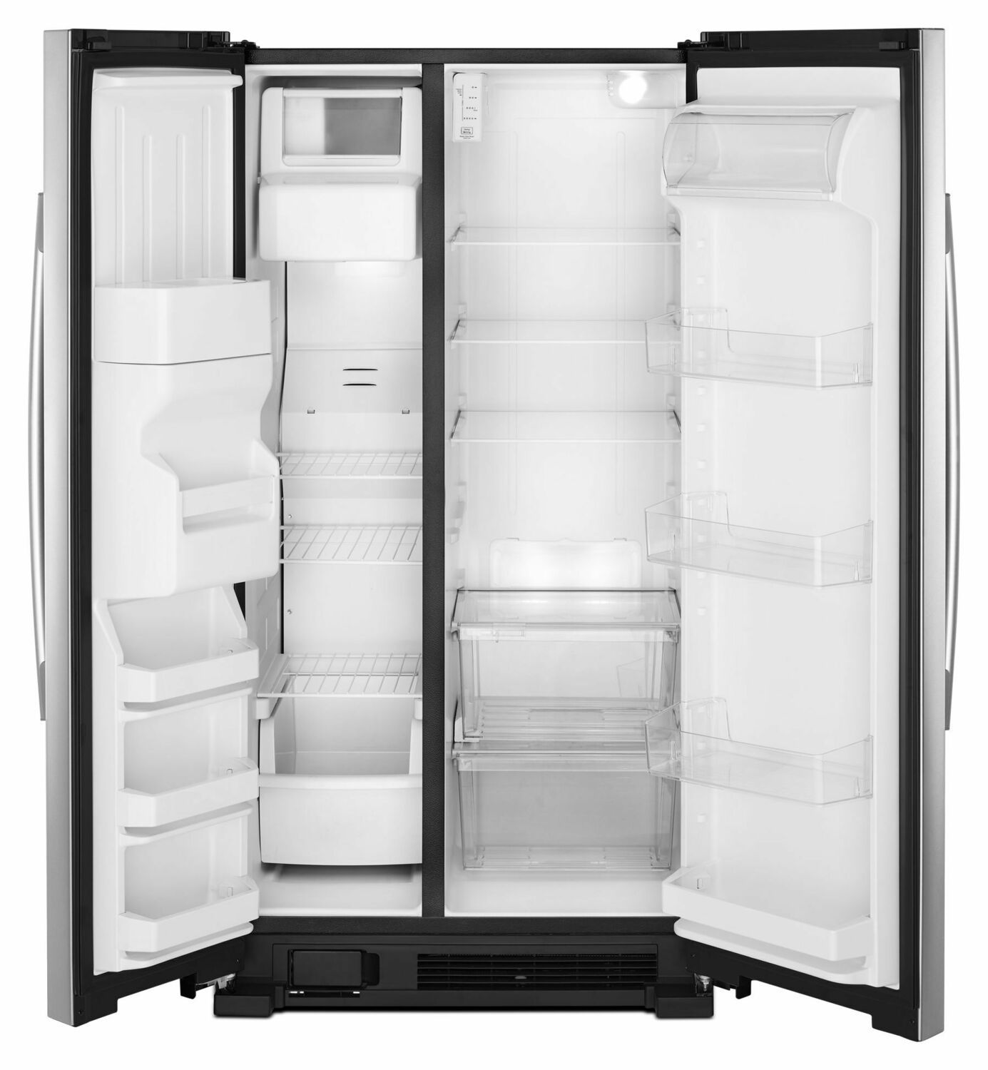 Asi2575grs Amana 36 Inch Side By Side Refrigerator With