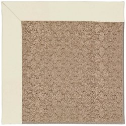 Creative Concepts-Grassy Mtn. Canvas Ivory Machine Tufted Rugs