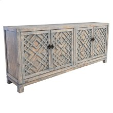 Antigua 4Dr Sideboard Distressed Blue