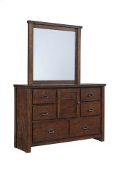 Ladiville - Rustic Brown 2 Piece Bedroom Set
