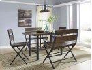 Kavara - Medium Brown 5 Piece Dining Room Set Product Image