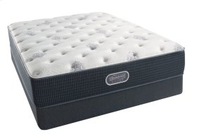 BeautyRest - Silver - Sea Glass - Tight Top - Plush - King