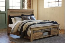 Sommerford - Brown 3 Piece Bed Set (Cal King)
