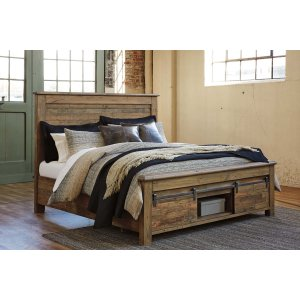Ashley Furniture Sommerford - Brown 3 Piece Bed Set (Cal King)