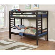 Hilshire Dark Grey Twin-over-twin Bunk Bed