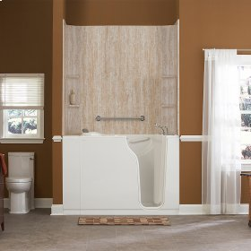 Premium Series 30x52-inch Walk-In Tub with Air Spa System  American Standard - White