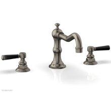 HENRI Deck Tub Set - Marble Lever Handles - 161-42 - Pewter