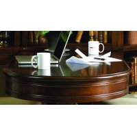 Home Office Cherry Creek Peninsula Desk Top Product Image