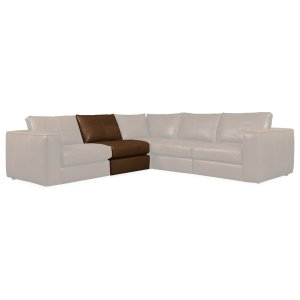 Living Room Solace Armless Chair and Half SC Component