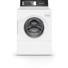 White Left Hand/Right Hand Hinge Front Load Washer