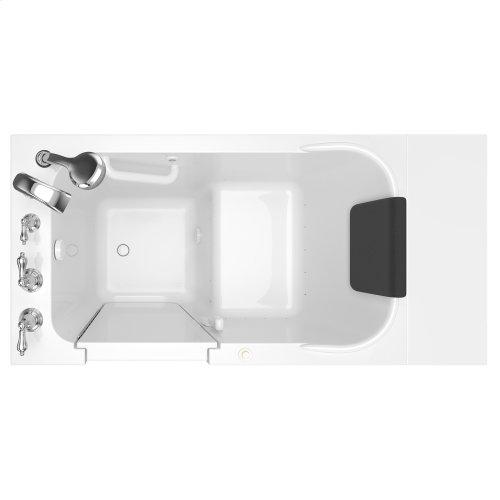 Premium Series  28x48-inch Walk-in Tub  Air Spa  Left Drain  American Standard - White
