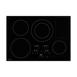 30 in. Width Induction Cooktop, European Black Mirror Finish Made with Premium SCHOTT® Glass -