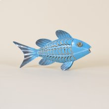 Iron Fish With 2 Fins