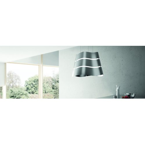 "Wave 20"" Island Chimney Range Hood with 350 CFM - CLEARANCE ITEM"