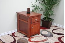A-S250 Shaker Alder Fully Enclosed End Table